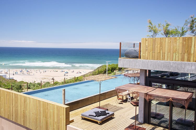 Noah Surf House pool