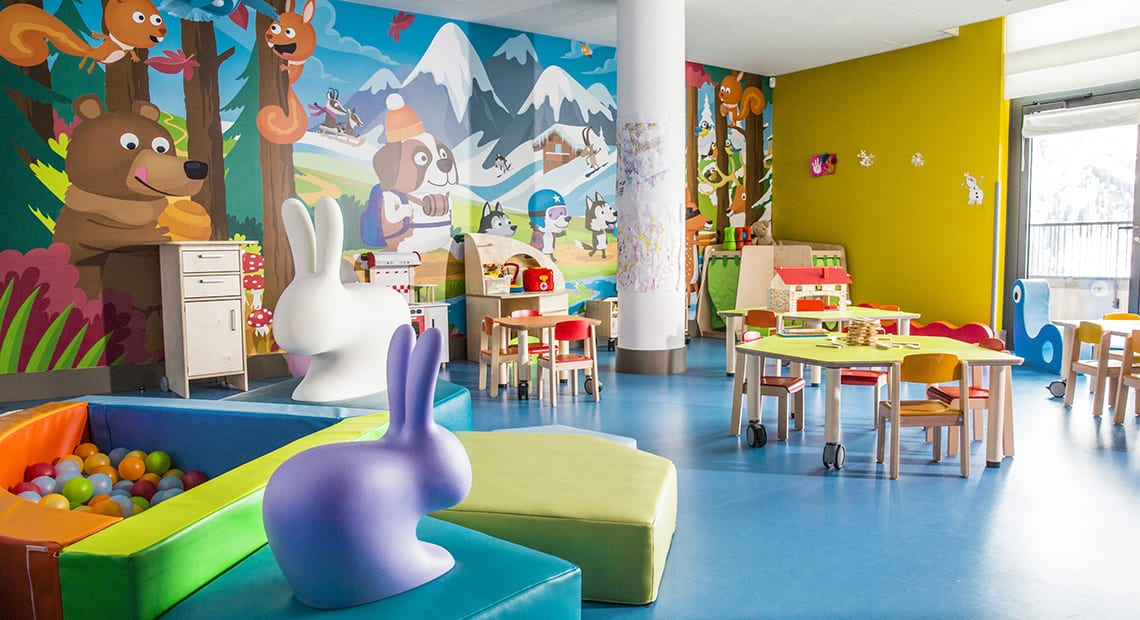 Grand Massif Samoëns Morillon Kids Club