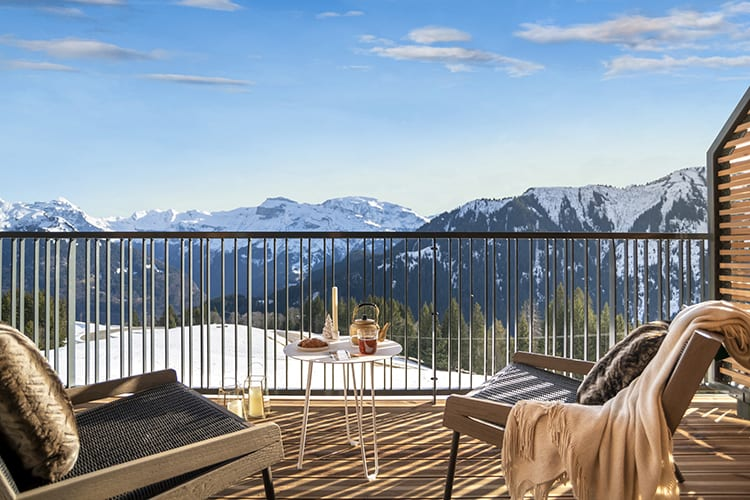 Chalets Club Med Grand Massif view