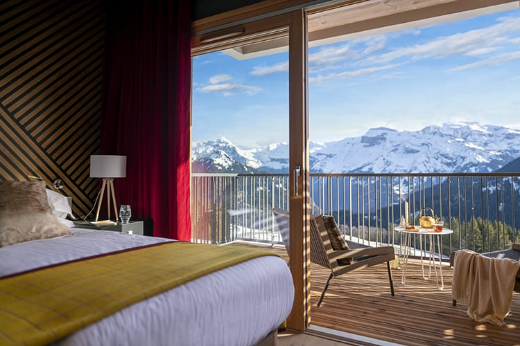 Chalets Club Med Grand Massif bedroom