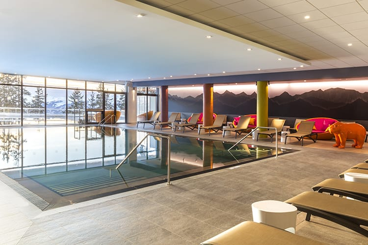 Les Arcs Panorama indoor pool