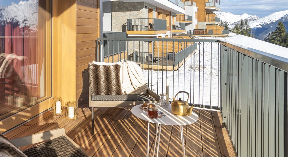 Grand Massif Chalets Club Med Terrace Mountain