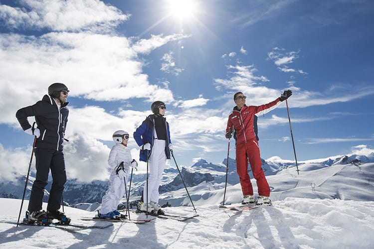 Grand Massif ski lessons