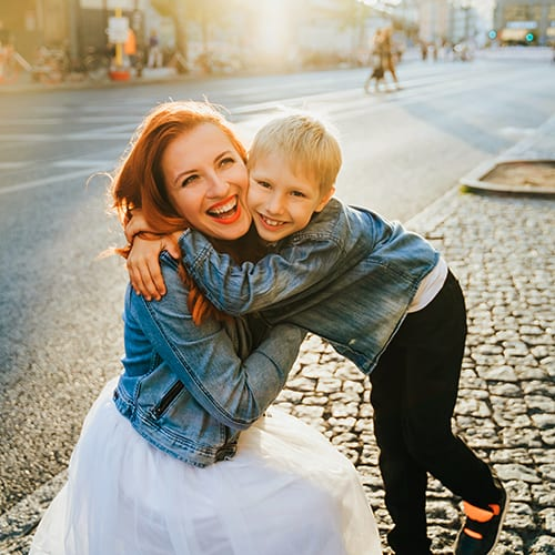 Berlin-with-Family-Happy-Mother-Boy